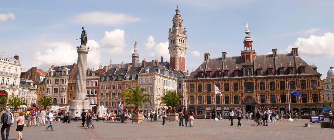Studio hire in Lille