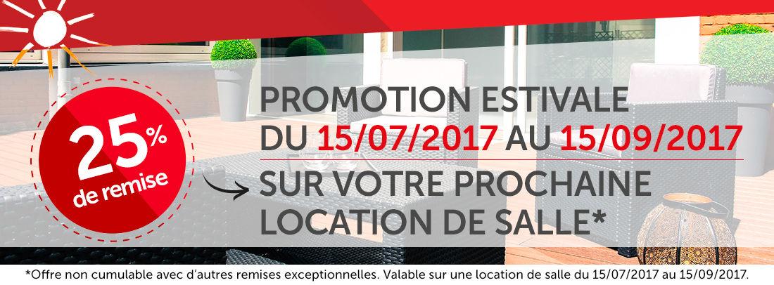 Promotion estivale 2017